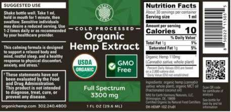 hemp extract