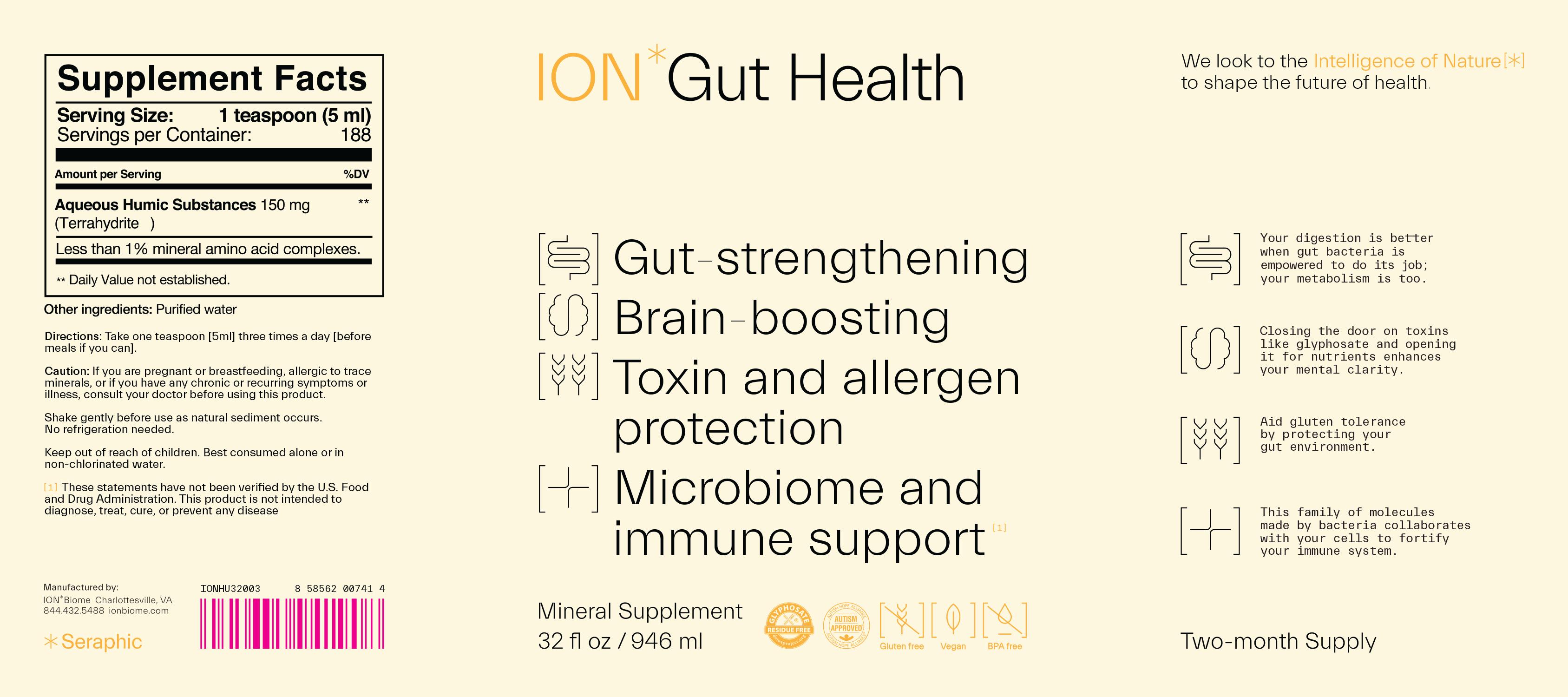 ion biome gut health