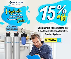 Pelican whole house water filter
